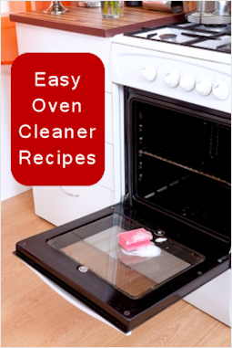 how to clean oven racks in garbage bag