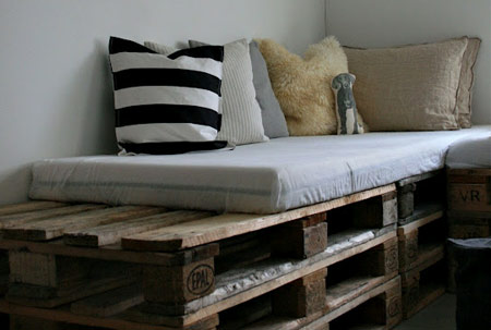 what to do with old wooden pallets