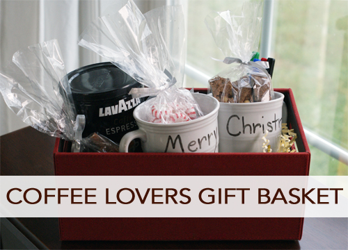Coffee lovers gift basket ideas savedollarblog for Christmas gift ideas for kitchen lovers